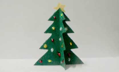 Como hacer un arbol con carton imagui - Como hacer un arbol de navidad de carton ...